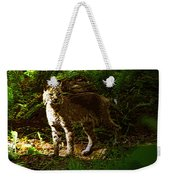 Lynx Rufus Weekender Tote Bag