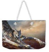 Lynx Spirit Weekender Tote Bag