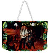 L S At Winterland 2 Weekender Tote Bag