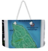M 185 Ride The Fringe Signage Mackinac Island Michigan Vertical Weekender Tote Bag
