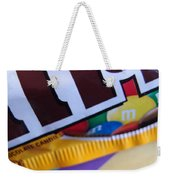 M And M Candy Weekender Tote Bag