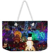 M And Ms For Christmas Weekender Tote Bag