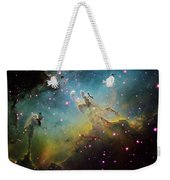 M16 The Eagle Nebula Weekender Tote Bag