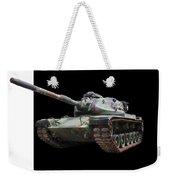 M48a2 Tank Weekender Tote Bag