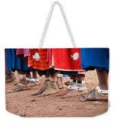 Maasai Feet Weekender Tote Bag