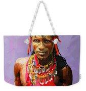 Maasai Moran Weekender Tote Bag