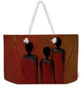 Maasai Trio  Weekender Tote Bag