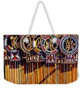 Maasai Wedding Necklaces Weekender Tote Bag