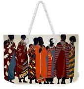 Maasai Women Weekender Tote Bag