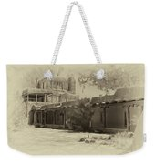 Mabel's Courtyard As Antique Print Weekender Tote Bag