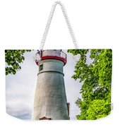 Mablehead Light From The Rocks Weekender Tote Bag