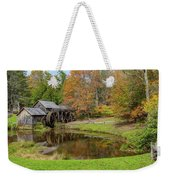 Mabry Mill In Fall 1 Weekender Tote Bag