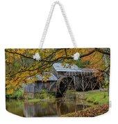 Mabry Mill In Fall 3 Weekender Tote Bag