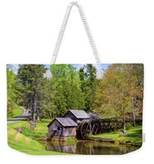 Mabry Mill In The Springtime On The Blue Ridge Parkway  Weekender Tote Bag by Kerri Farley