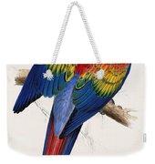 Macaw By_edward_lear Weekender Tote Bag