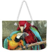 Macaw Love Weekender Tote Bag