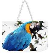 Macaw Parrot Weekender Tote Bag