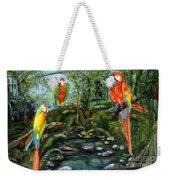 Macaws Weekender Tote Bag