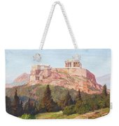 Macco, Georg 1863 Aachen - 1933   The Acropolis Of Athens. Weekender Tote Bag
