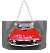 Mach1 Mustang 1969 Head On Weekender Tote Bag