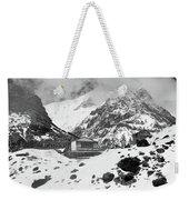 Machhapuchchhre Base Camp - The Himalayas Weekender Tote Bag