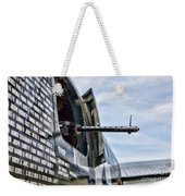 Machine Gun Wwii Aircraft Color Weekender Tote Bag