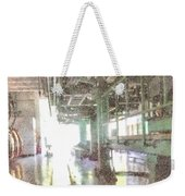 Machinery In A Factory Weekender Tote Bag