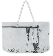 Machinery Of War, Trebuchet, 12th Weekender Tote Bag by Photo Researchers