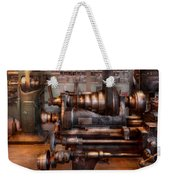 Machinist - Steampunk - 5 Speed Semi Automatic Weekender Tote Bag