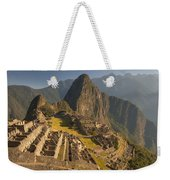 Machu Picchu At Dawn Near Cuzco Peru Weekender Tote Bag