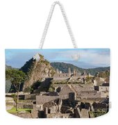 Machu Picchu City Archecture Weekender Tote Bag