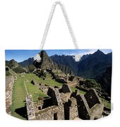 Machu Picchu Residential Sector Weekender Tote Bag