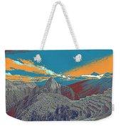 Machu Picchu Travel Poster Weekender Tote Bag