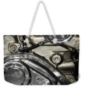 Mack Truck Display Engine Weekender Tote Bag