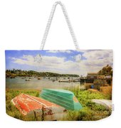 Mackerel Cove Dory And Dinghy   Weekender Tote Bag