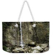 Mackinaw City Park Waterfalls 1 Weekender Tote Bag