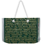 Mackinaw Conference Signage Mackinac Island Michigan Vertical Weekender Tote Bag