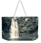 Maclean Falls New Zealand Weekender Tote Bag