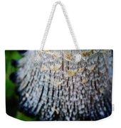 Macro Mushroom Weekender Tote Bag