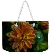 Macro Of Dahlia Flower Weekender Tote Bag
