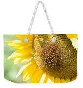 Macro Photography Of Sunflower Weekender Tote Bag