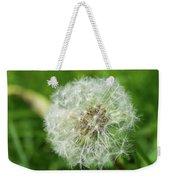 macro shot of a beautiful Dandelion. Weekender Tote Bag
