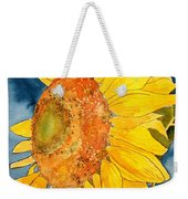 Macro Sunflower Art Weekender Tote Bag