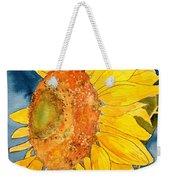 Macro Sunflower Art Weekender Tote Bag