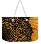 Macro Sunflower Weekender Tote Bag
