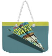 109s Cracked Mad Paper Airplanes Weekender Tote Bag