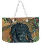 Madame Czanne Hortense Fiquet 18501922 In The Conservatory Weekender Tote Bag