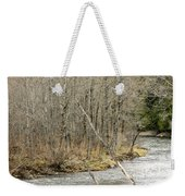 Madawaska Stream Bend Weekender Tote Bag