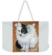 Maddie In Waiting Weekender Tote Bag