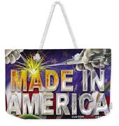 Made In America Weekender Tote Bag
